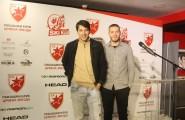Viktor Savić i Aleksandar Radojičić na otvaranju ski kluba Crvena zvezda