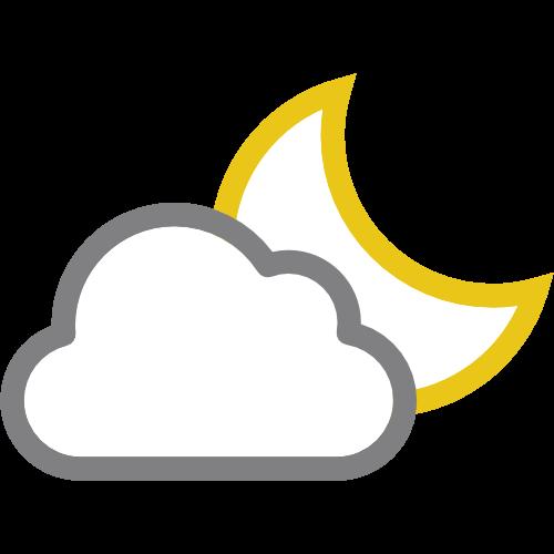 promenljivo oblačno za 02:00-03:00