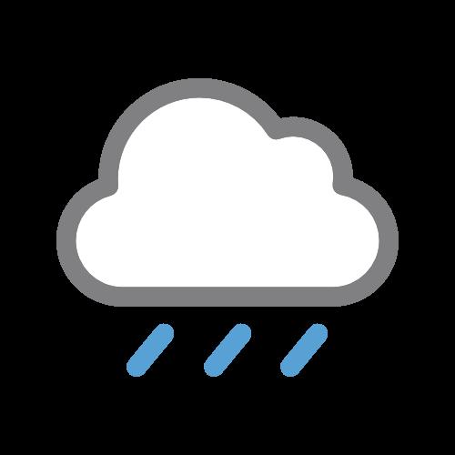 slaba kiša za 03:00-04:00